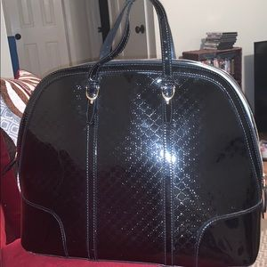 Authentic Gucci Nice Black Patent Leather Bag